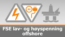 FSE lav- og høyspenning offshore 2016